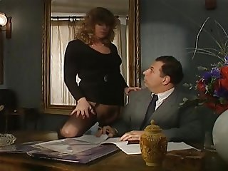The Secretary tries to Seduce the Boss