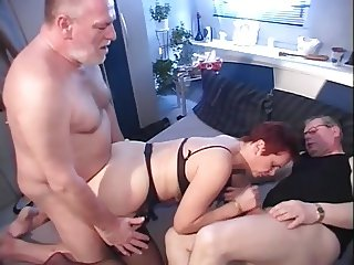 Mature German MMV Trio