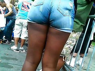 Wedgie Jeans Shorts VPL