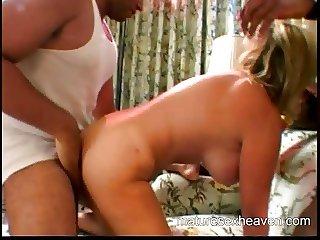 Granny's Interracial Cum Part 3