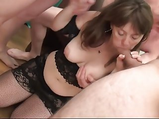 Cute Mommy Gangbanged