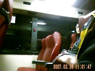 Asian Bus Dick Flashing2.. Crazy world!!