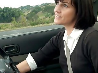 STP Horny Milf Lets Her Thoughts And Fingers Wander !
