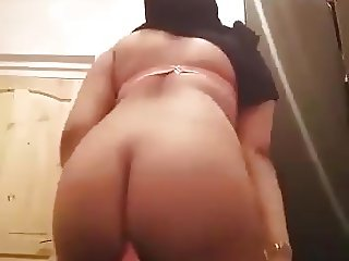 Arab hijabs haking ass and bending over naked