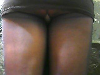 crossdresser pantyhose upskirt 012