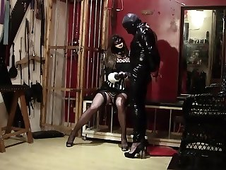 Facesitting, cock torture and handjob (preview)