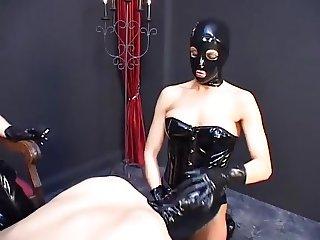 Doms in Masks, Smoking, Slave