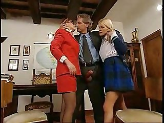 STP Schoolgirl And Mother Get Summoned By Master !
