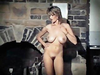 LITTLE RED CORVETTE - vintage 80's big boobs strip dance