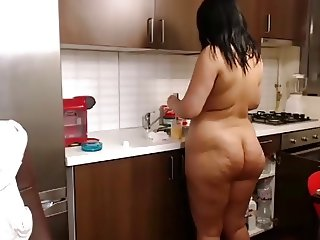 Nice Ass and Clean Kitchen
