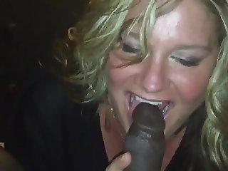 Kimberly sucking a BBC