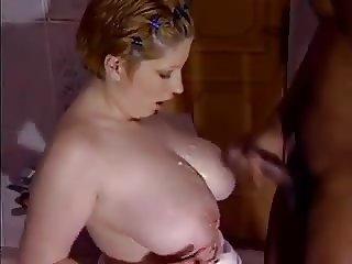 Great Cumshots on Big Tits 7