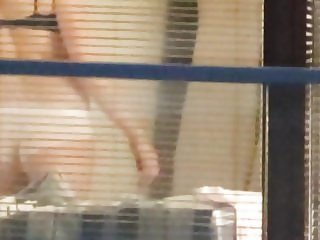 SPYING BLOND NEIGHBOUR B - 4