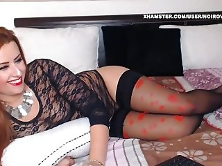 WM 249 Milf black stockings Legs