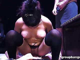 GroupBanged.com Busty amateurs enjoy being fucked