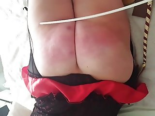 Scottish slut sara has ass beaten severely
