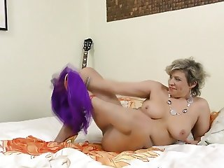 Cock hungry grandma