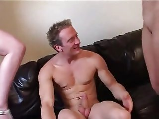 british stepmom teaches stepdaughter how to suck and fuck