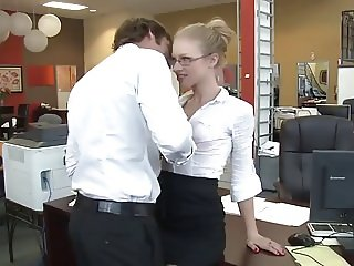 A gorgeous Secretary very Very Sexy. A.H.