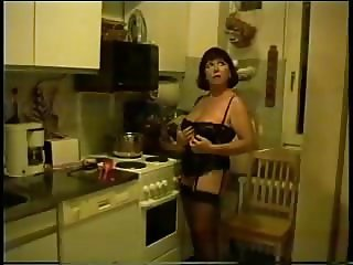 wife in the kitchen