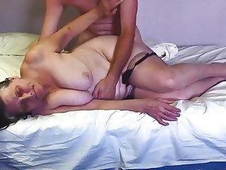 Painful anal for grandma