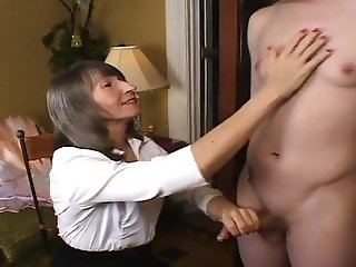 Mrs Loving Begins Sissy Training at Mother's Request