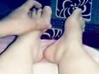 feey my wife play feet