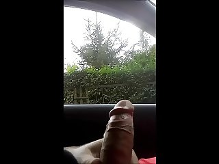 flash dick in car for two polish girls