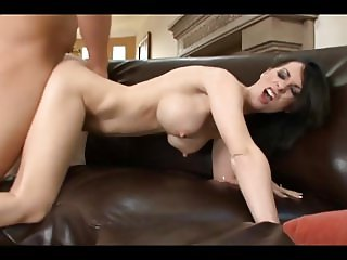 Brunette Cougar III:  Doggy and Couch