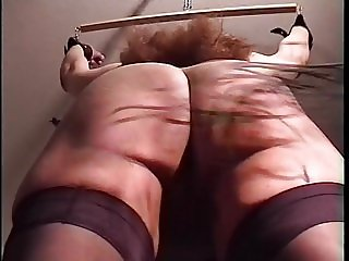 Short Ass and Pussy Spanking