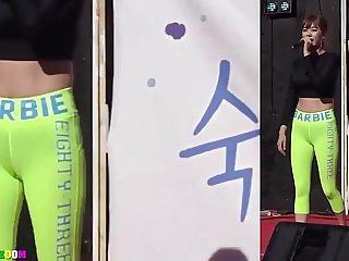 korean Dancer Camel toe