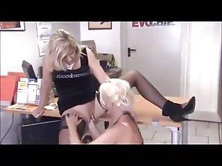 Pierced German MILF Whore Fisted - 2 Scenes