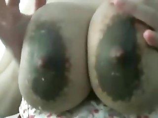 Milky boobs