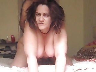 Chubby Wife Fuck and Facial