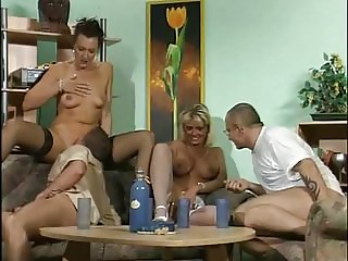 German pee orgy