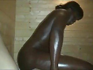 African Flower Loves The Sauna..