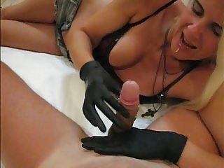 sadobitch - handjob orgasm