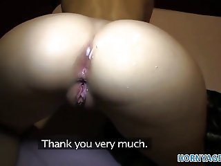 HornyAgent HD Blonde gets fucked in her virgin white