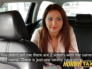 HornyTaxi Your choice suck my big cock or walk
