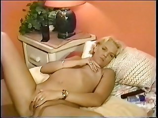Sexy blond whore riding big dick