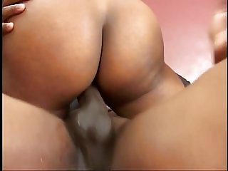 Black mama riding black dick