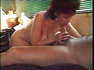 Wife sucking husband's dick