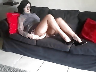 Christina tan stockings