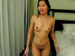 Jaripha Suticost Dance Naked in our hotel in Phuket.