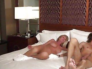Cougar MILF fucks young stud