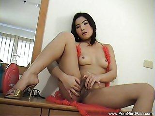 Japanese Babe Dildo Pussy