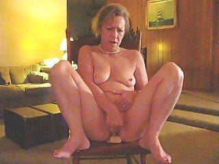 Wife Masturbates Watching Hubby Suck Dong Part II