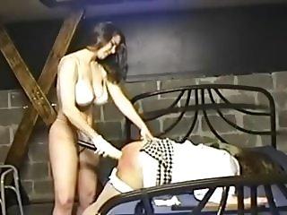 Amateur Mistress punish her sissy slut 03