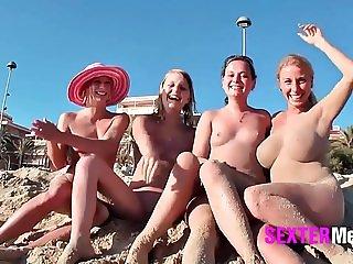 Fickende geile Mallorca Fotzen !!!