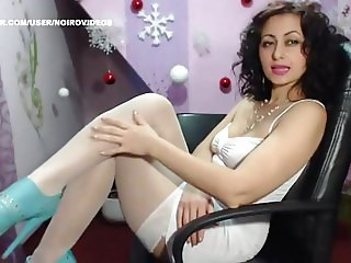 WM 162 Mature white Nylons Legs